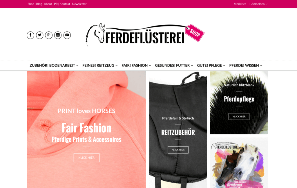 pferdefluesterei-shop-screenshot